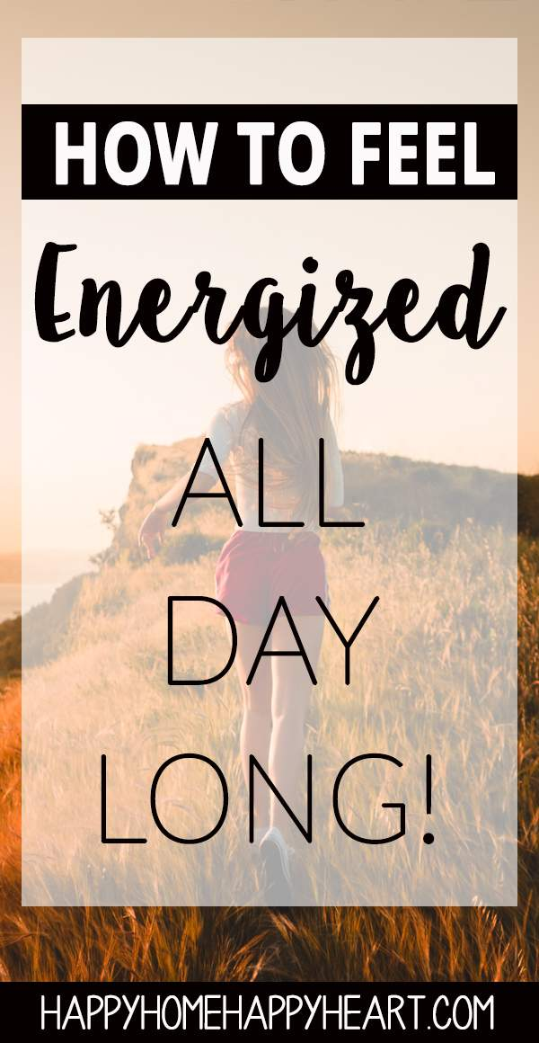 Tired of feeling tired all the time? Check out these natutal energy tips that will help you to have more energy and feel amazing! #energytips #energyhacks #getstuffdone