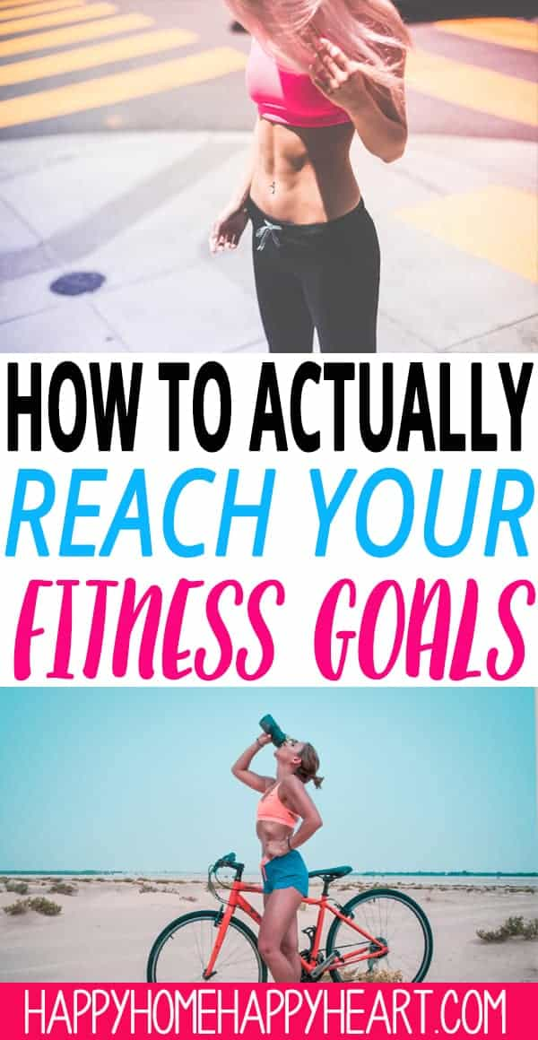 Struggling to reach your fitness goals? These fitness motivation tips will help you stay committed to your fitness goals & stick to your workout routine so you can get in shape fast. #Fitness #HealthyLiving #WorkoutMotivation