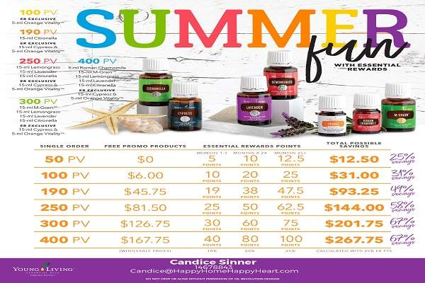 EARN FREE YOUNG LIVING PRODUCTS! ALL ABOUT ESSENTIAL REWARDS | HAPPYHOMEHAPPYHEART.COM