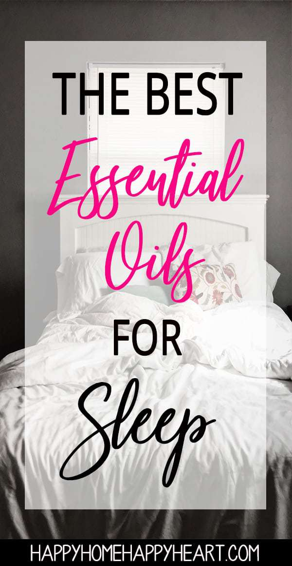 Struggling to find natural sleep remedies that actually work? Want to fall asleep faster? Essential oils are great for sleep support. Read this post to discover the best essential oils for sleep. #SleepTips #SleepRemedies #EssentialOils #YoungLiving #NaturalLiving