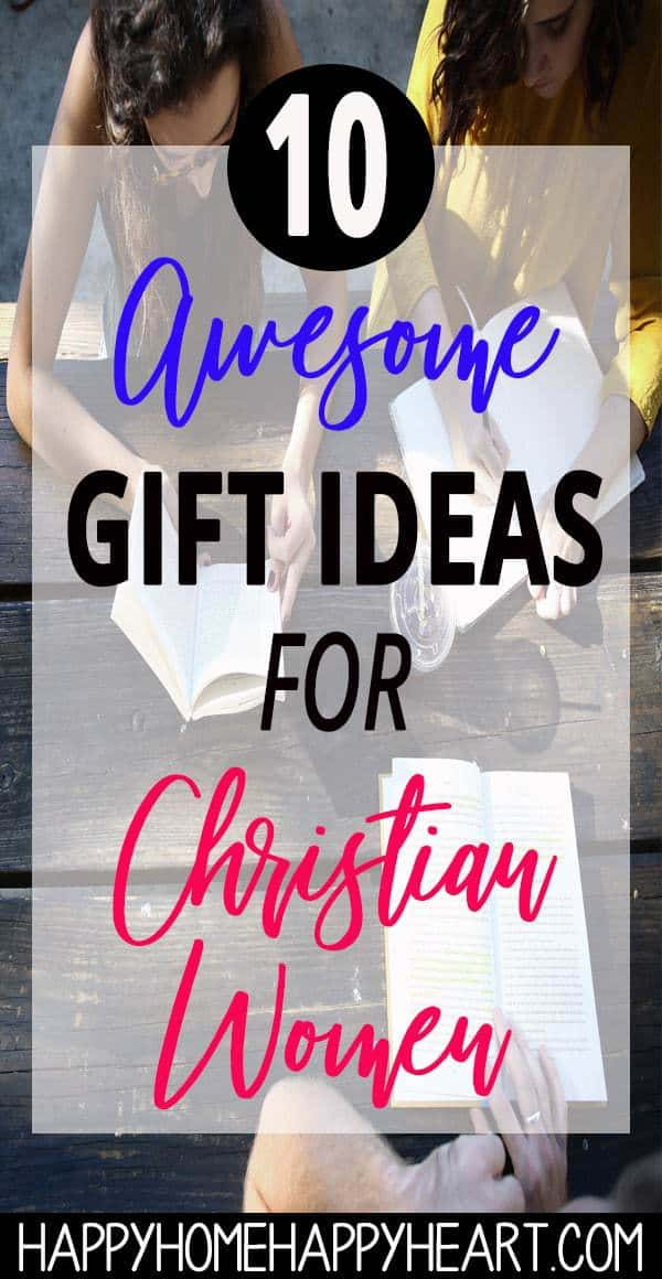 Struggling to find the perfect gift for the Christian women in your life? Read this post to discover 10 cute gifts for Christian women. These gift ideas for women make great Mothers Day gifts, Birthday gifts, Christmas gifts or any other special occasion. #ChristianGifts #ChristmasGifts #HolidayGifts #GiftGuide
