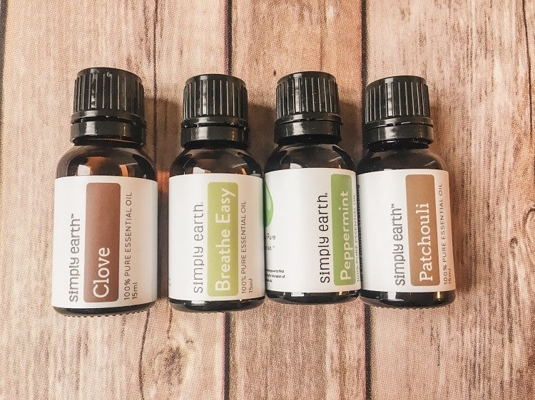 Simply Earth Essential Oil Subscription Box Review