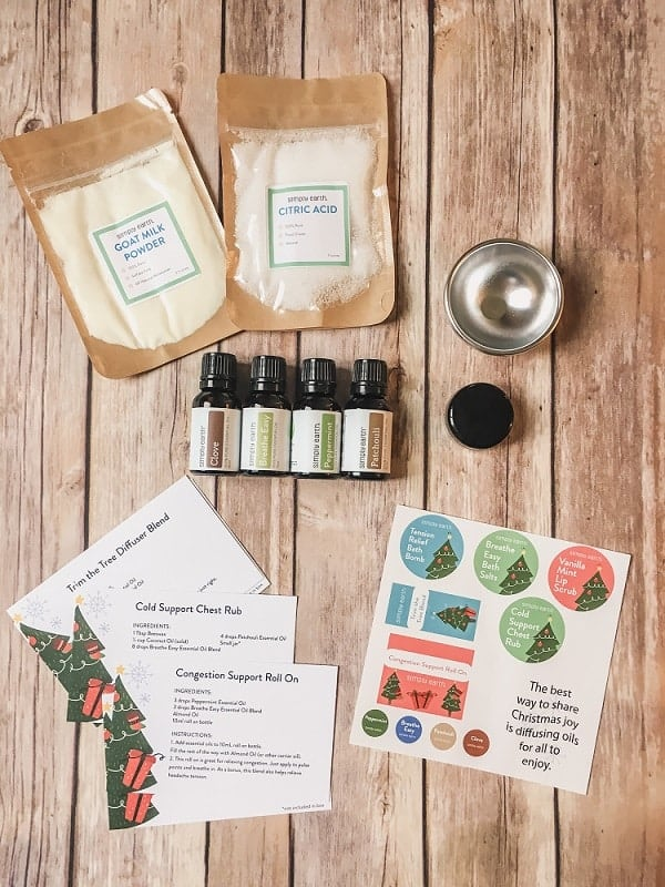 Simply Earth Essential Oil Subscription Box Review (2)