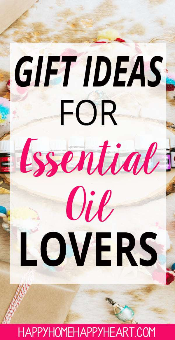Looking for a gift for the essential oil lover in your life? Read this post to discover gift ideas for essential oil lovers. These are awesome gift ideas for women as well. These Christmas gifts ideas are perfect for essential oil lovers! #GiftGuide #EssentialOils #ChristmasShopping