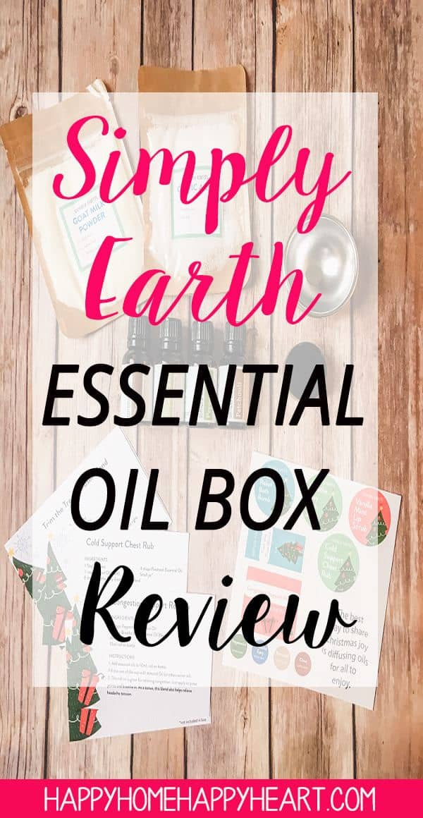 I love Simply Earth essential oils! I especially love the Simply Earth monthly subscription box. Simply Earth makes essential oils for beginners so easy! If you're interested in Simply Earth essential oils read this post to check out my Simply Earth Subscription Box Review!!! #EssentialOils #SimplyEarth #NaturalLiving #ToxinFree