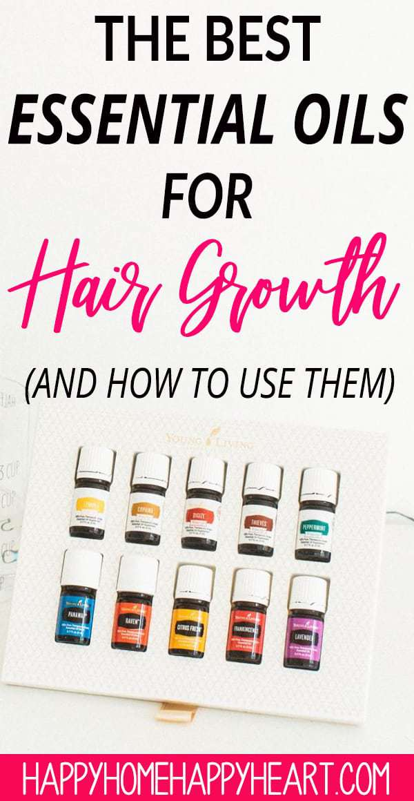 Grow hair longer with essential oils