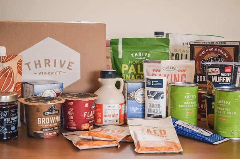 Thrive Market Items