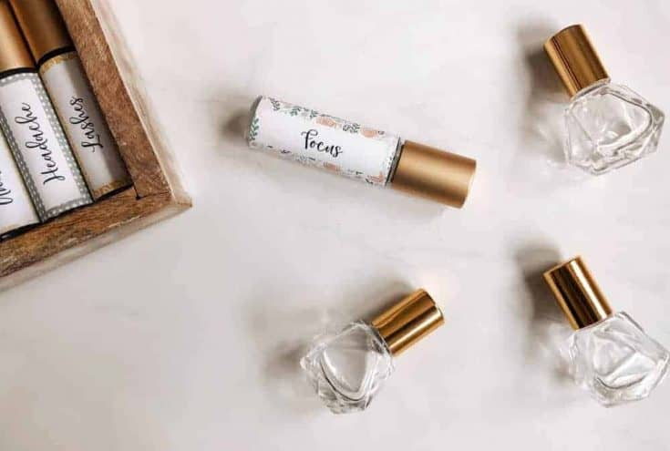 Focus Essential Oil Roller Blend Recipe