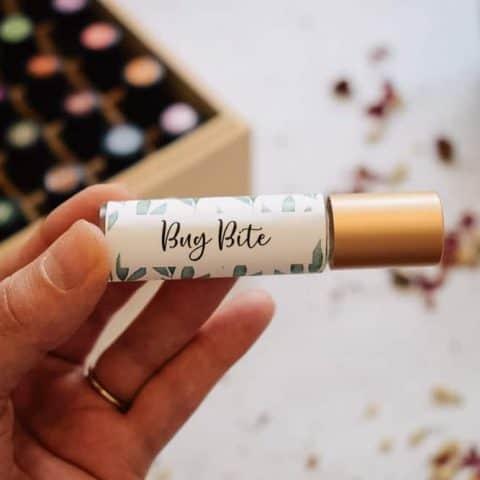 Bug Bite Relief Roller Blend Recipe