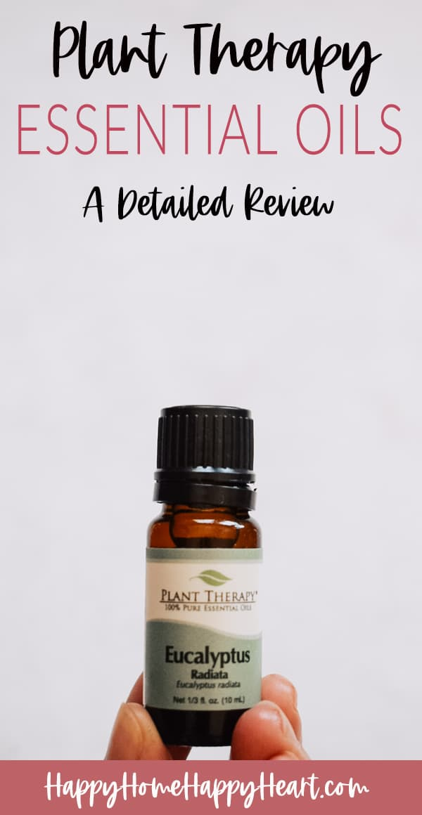 plant therapy oils review