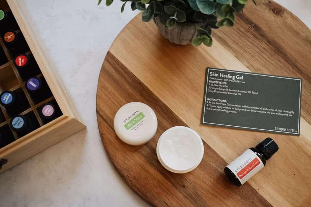 Simply Earth skin healing gel recipe