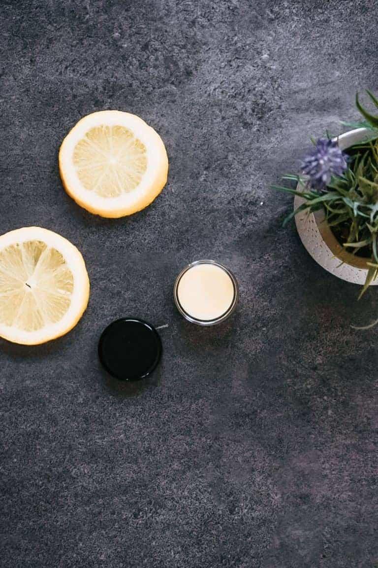 Homemade Lemon Cuticle Cream
