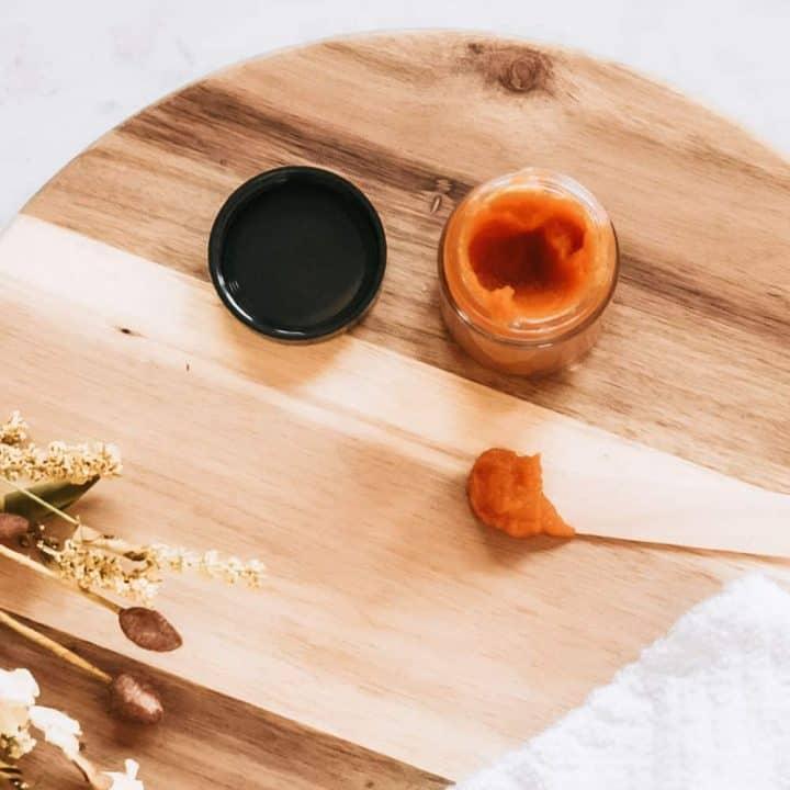 DIY Pumpkin Enzyme Face Mask