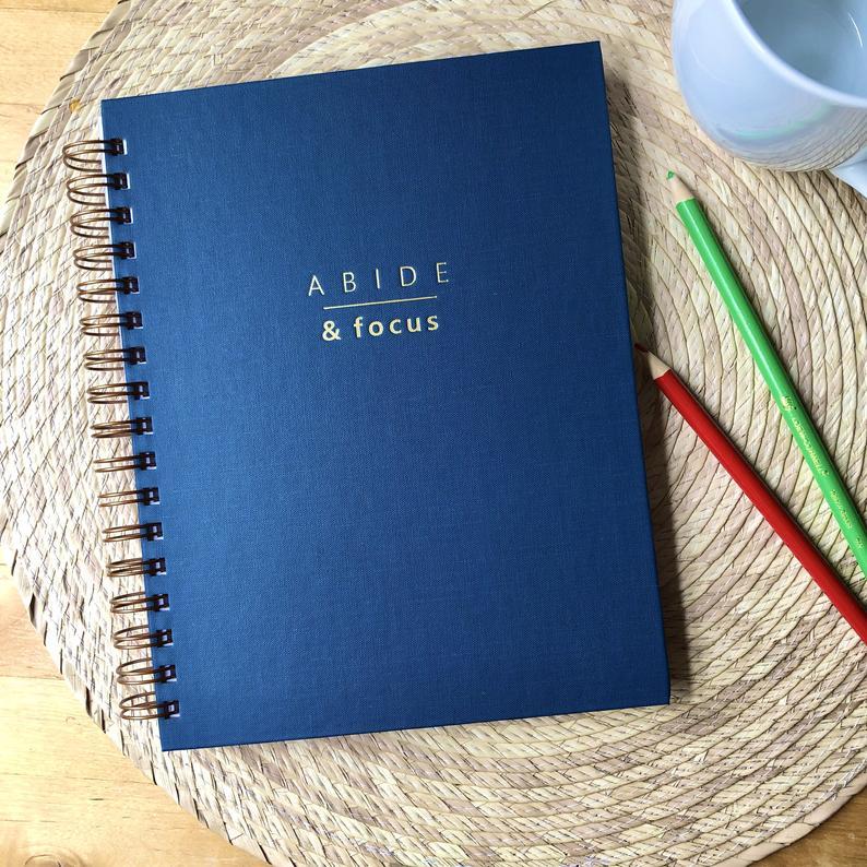 Abide & Focus Christian planner