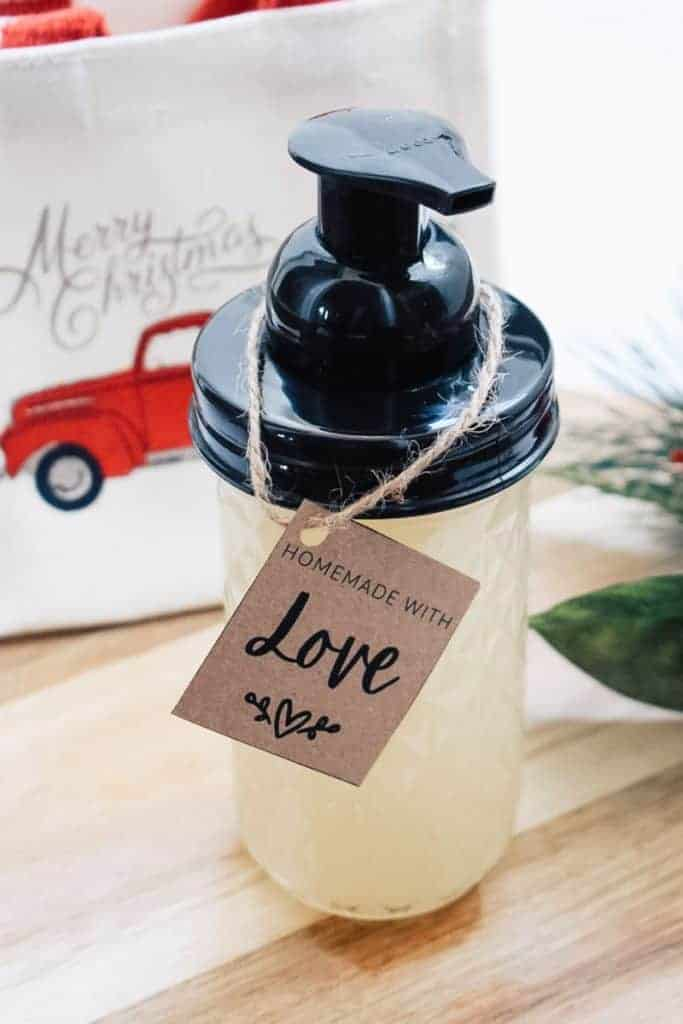 photo of diy hand soap for the holidays