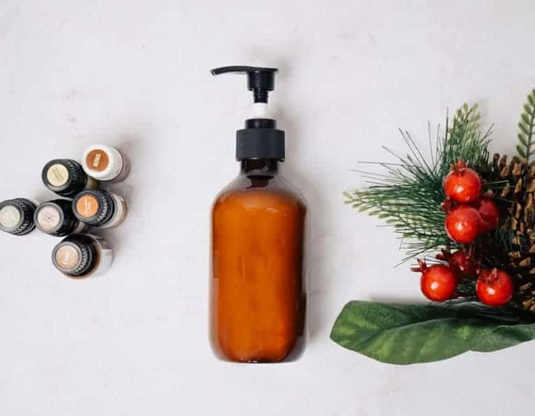 Homemade Christmas Cookie Body Wash