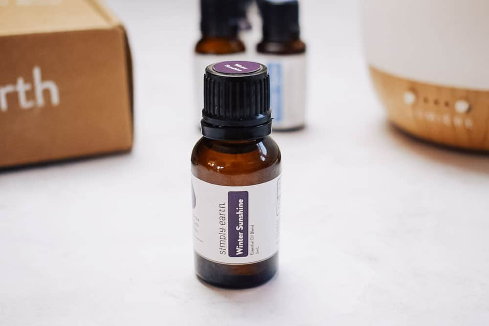 Simply Earth winter sunshine diffuser blend