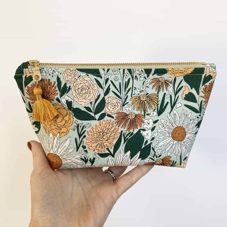 floral essential oil bag