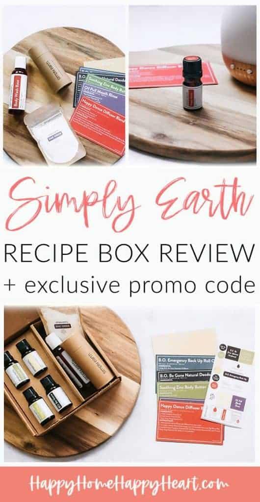 Simply Earth January 2021 Box