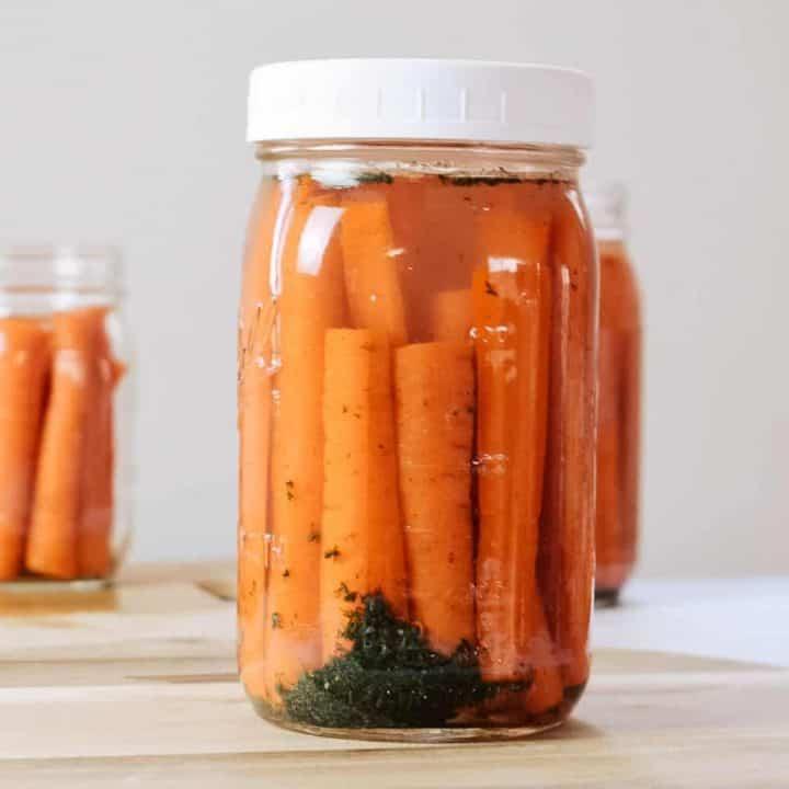Fermented Carrot Sticks